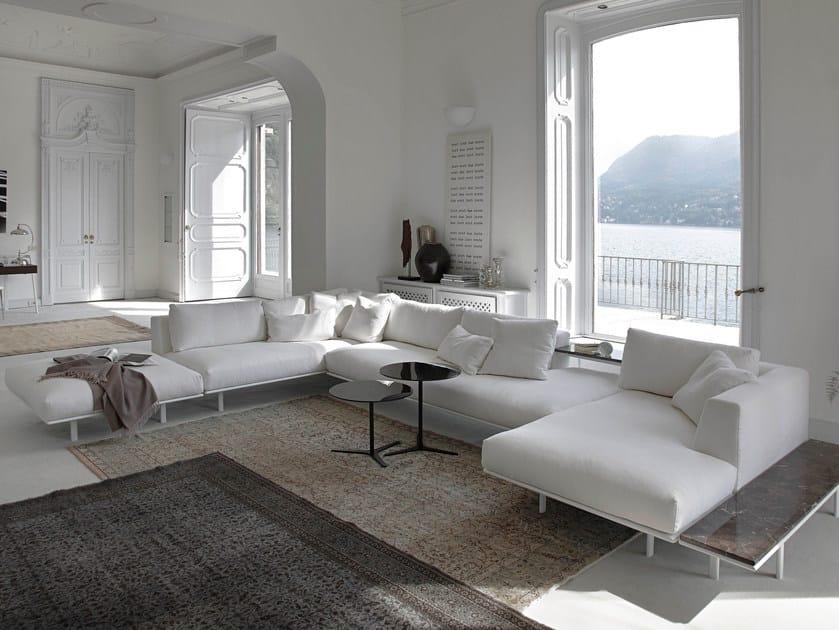 Fabric sofa DAKOTA   Corner sofa by Bontempi