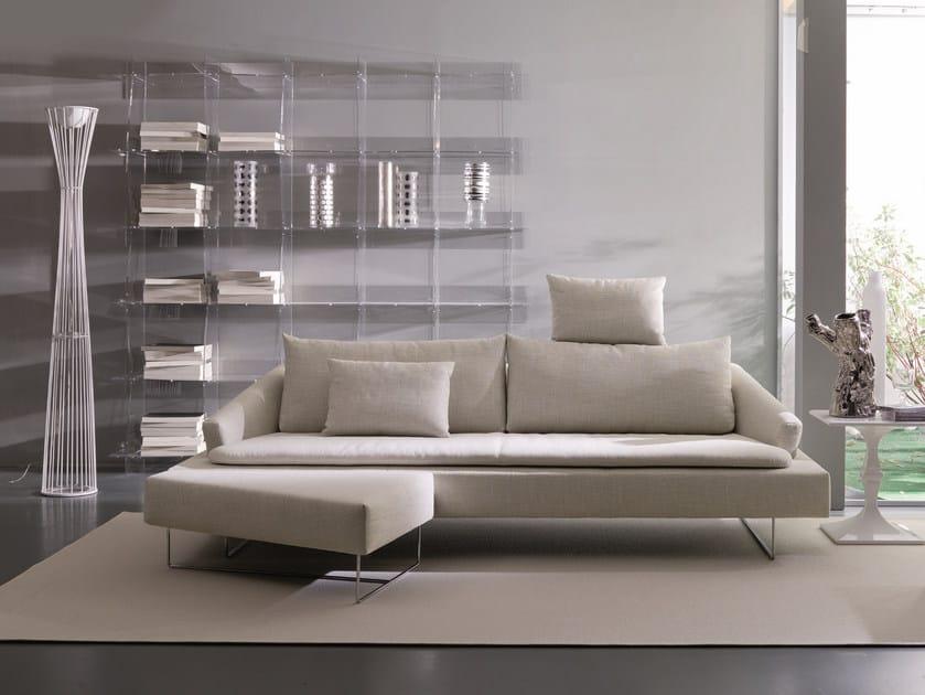 Fabric sofa with headrest ITACA | 3 seater sofa by Bontempi