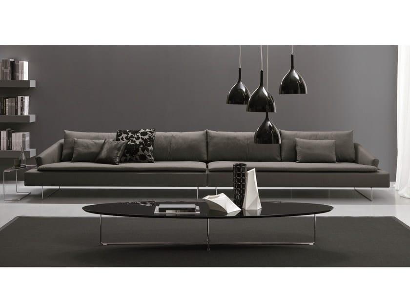 Fabric sofa ITACA | 6 seater sofa by Bontempi