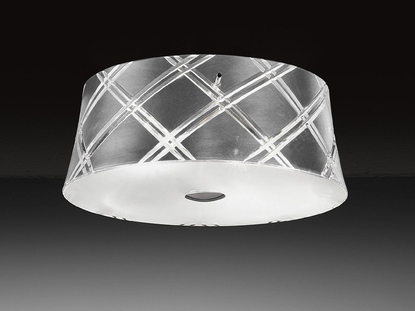 Silver leaf ceiling light CORALLO | Ceiling light by Metal Lux