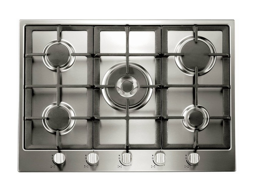 Gas stainless steel hob 1981 | Gas hob by NOVY