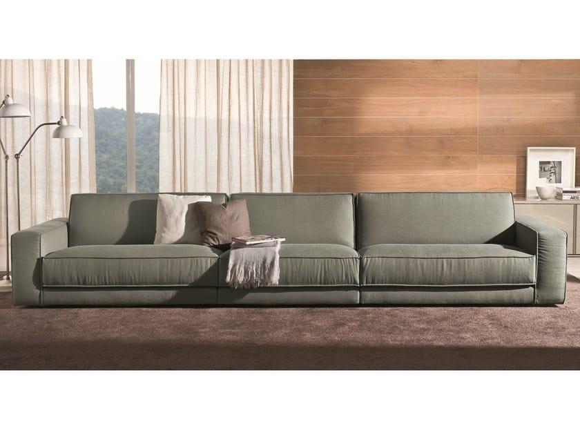 Recliner sofa SOFT | 5 seater sofa by Bontempi