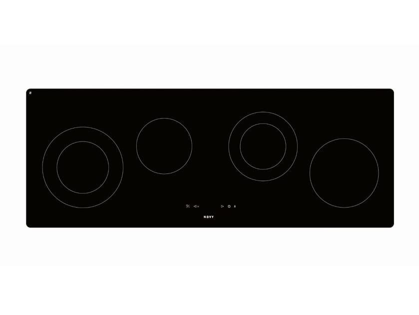 Induction glass ceramic hob 1002 O'ZONE by NOVY