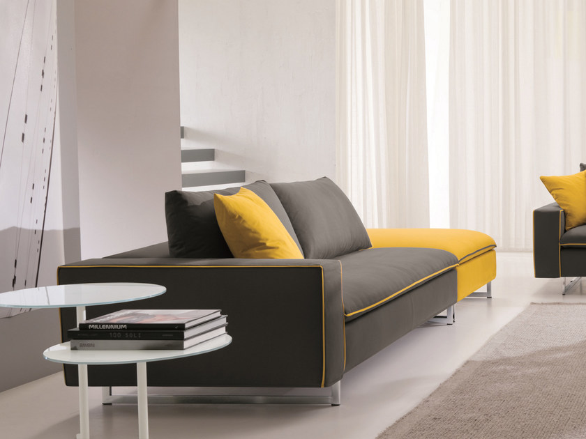 Sofa with removable cover PLANET | 2 seater sofa by Bontempi