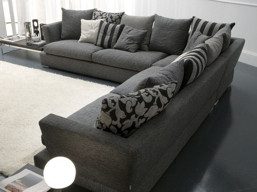 Fabric sofa RODEO DRIVE | Corner sofa by Bontempi