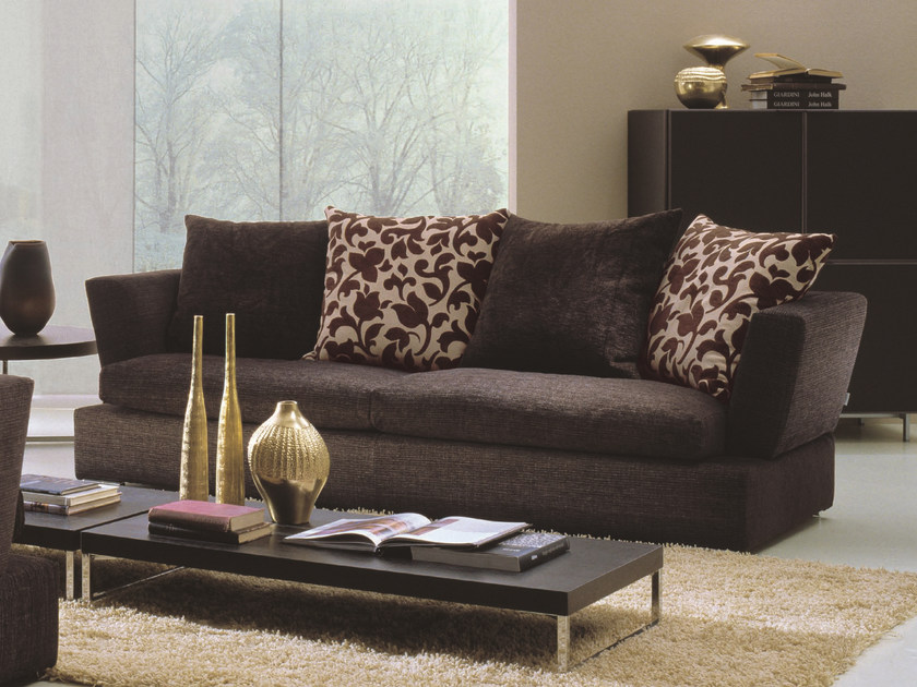 Fabric sofa RODEO DRIVE | 3 seater sofa by Bontempi