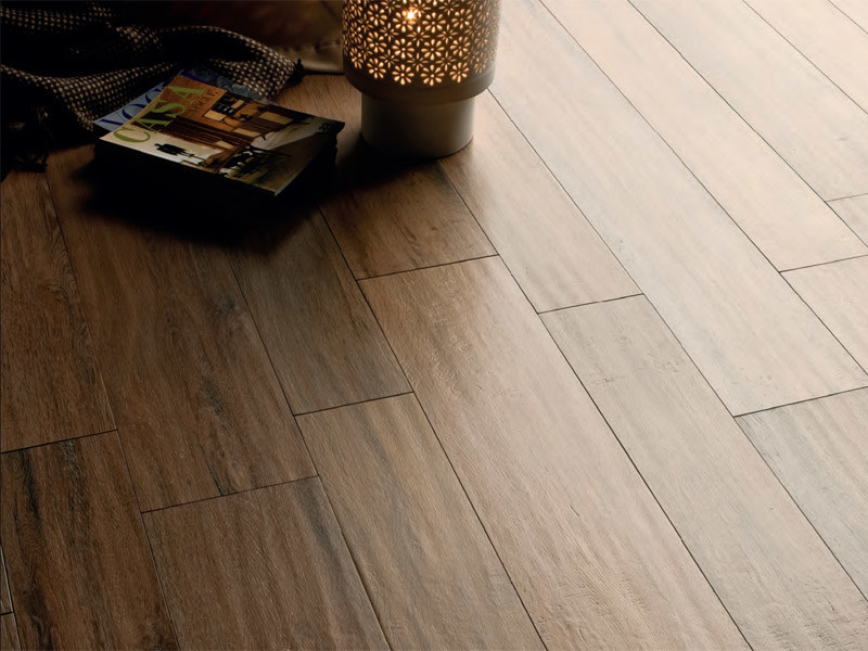 Porcelain stoneware wall/floor tiles with wood effect S.WOOD by CERAMICA SANT'AGOSTINO