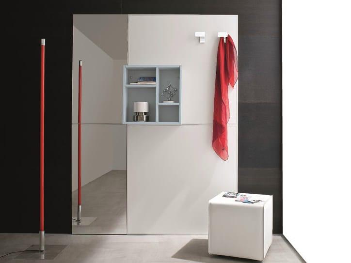 Imitation leather hallway unit CINQUANTA | Imitation leather hallway unit by Birex
