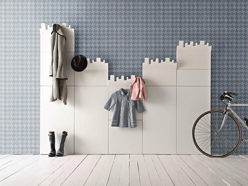 Wall-mounted coat rack MANHATTAN by Birex