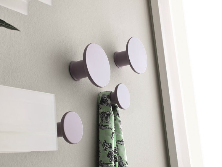 Lacquered wall hook FUNGO by Birex