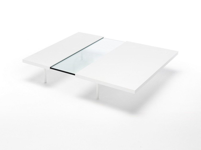 Extending coffee table for living room STEP by Living Divani