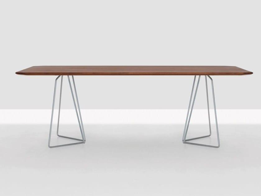 Rectangular table SODA by ZEITRAUM