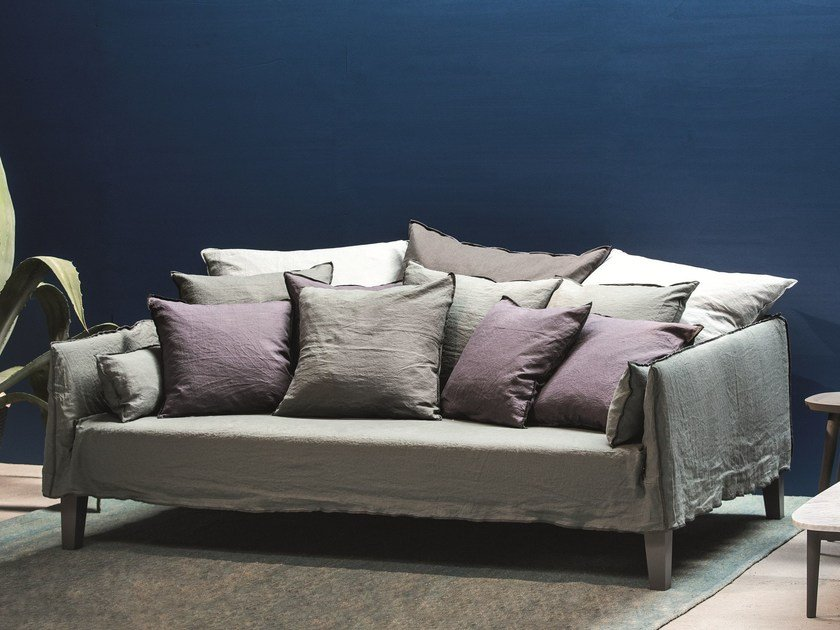 4 seater sofa with removable cover UP 16 by Gervasoni