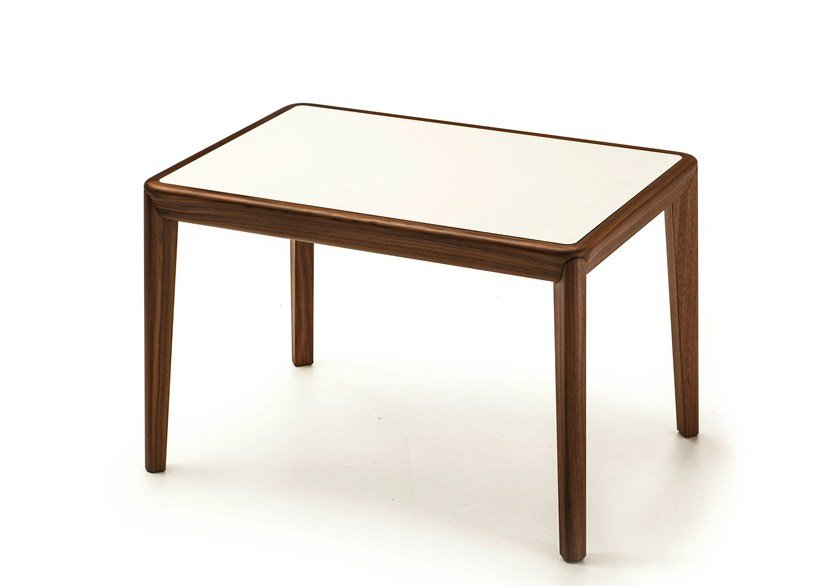 Rectangular wooden high side table BELLEVUE T04L/FX/M by Very Wood