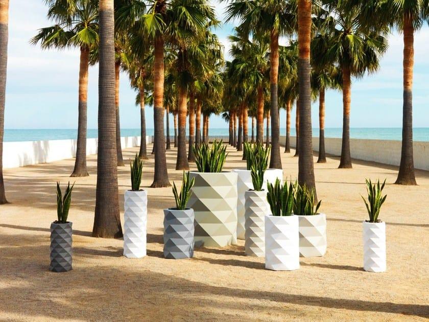 Planter with light MARQUIS | Planter by VONDOM