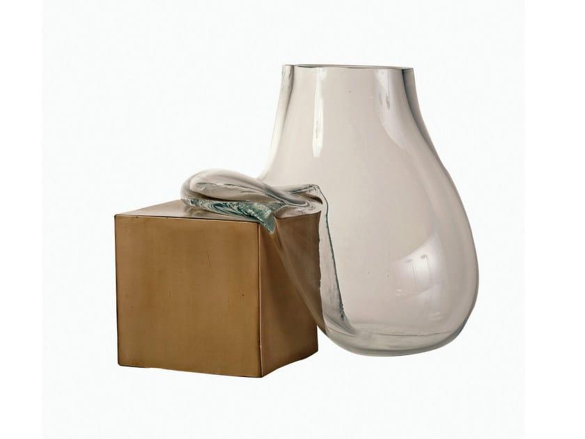 Blown glass vase ROCK by ROCHE BOBOIS