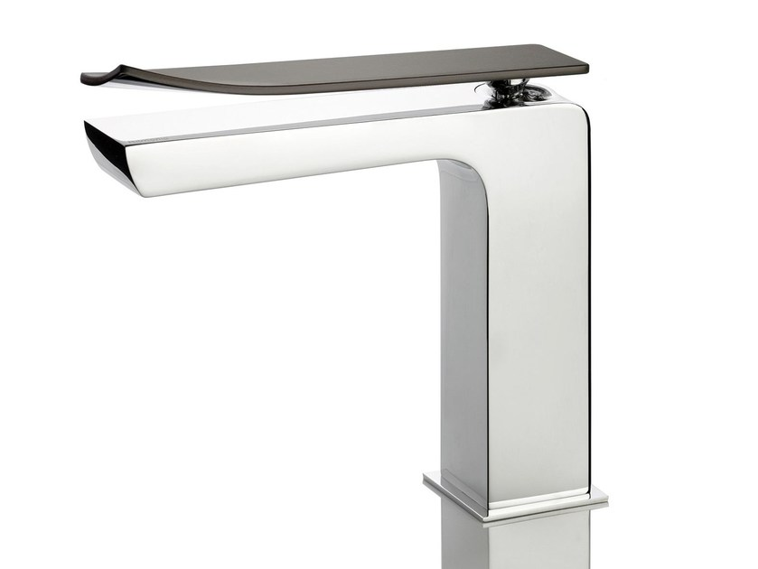Countertop single handle 1 hole washbasin mixer TWEET | Single handle washbasin mixer by RITMONIO