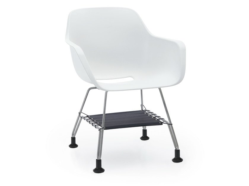 Chair with armrests CAPTAIN'S CHAIR | Chair with armrests by Extremis