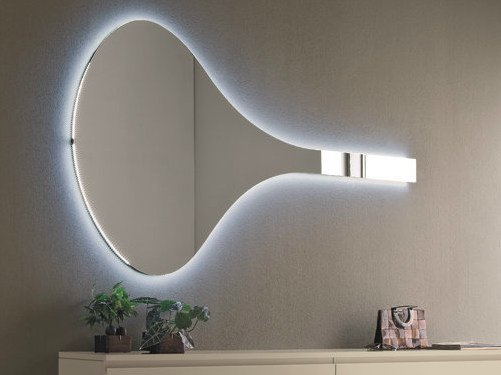 Wall-mounted hall mirror JAZZ | Wall-mounted mirror by Birex