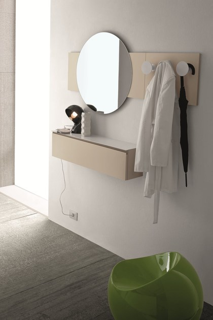 Specchio rotondo by birex - Parete a specchio per ingresso ...