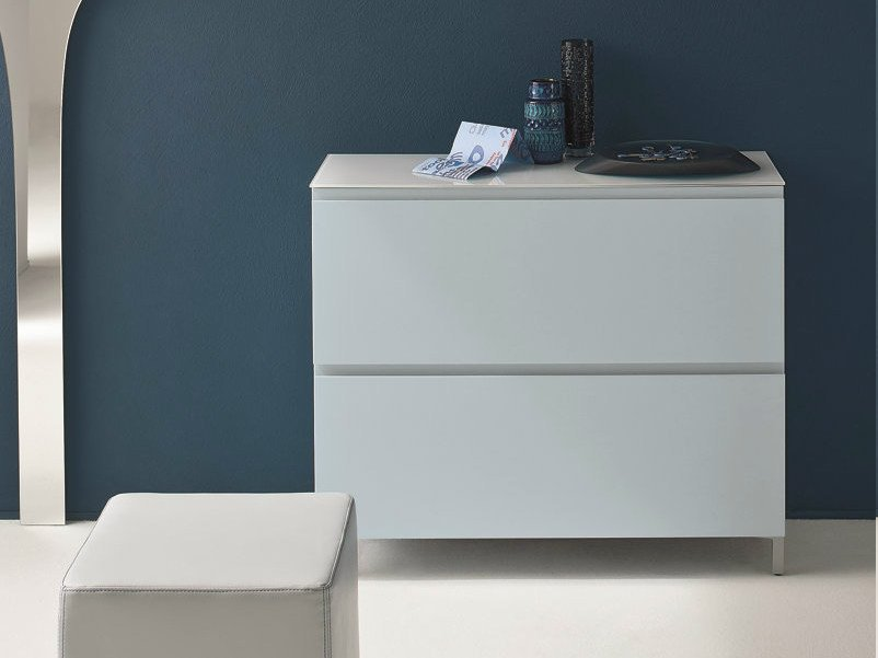 Lacquered shoe cabinet LOGIKA | Lacquered shoe cabinet by Birex