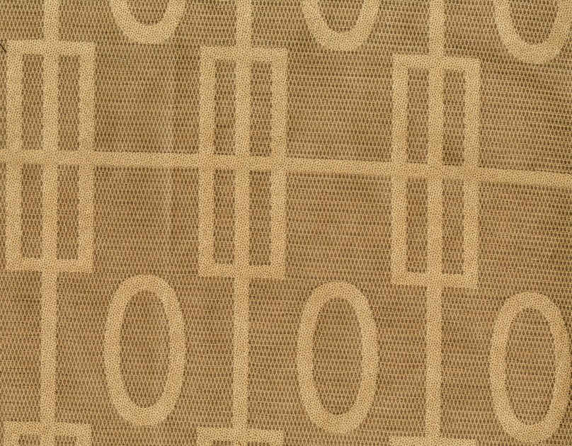 Cotton fabric with graphic pattern ROLAND GARROS by KOHRO