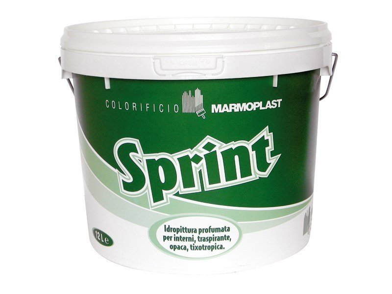 Breathable water-based paint SPRINT SUPER TRASPIRANTE by Marmoplast