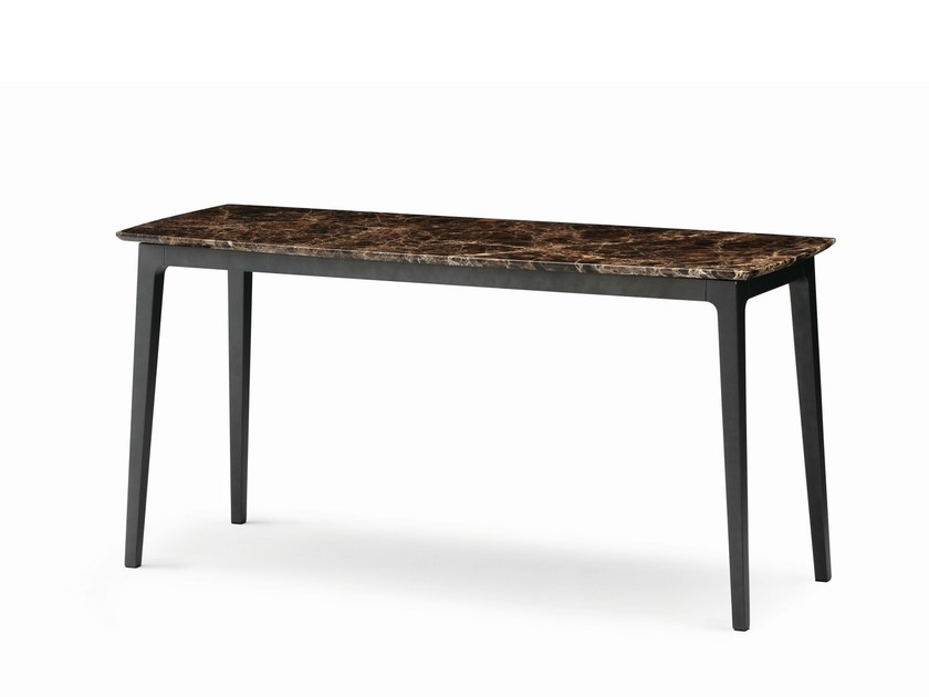 Marble console table OLIVIER | Console table by Flou