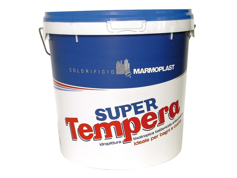 Tempera water-based paint SUPER TEMPERA by Marmoplast
