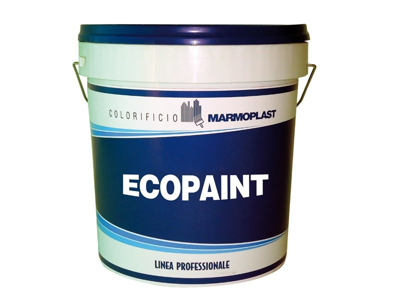 Ecological varnish and paint for sustainable building ECOPAINT by Marmoplast