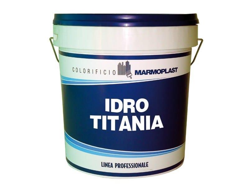 Washable water-based paint IDRO TITANIA ANTIMACCHIA by Marmoplast