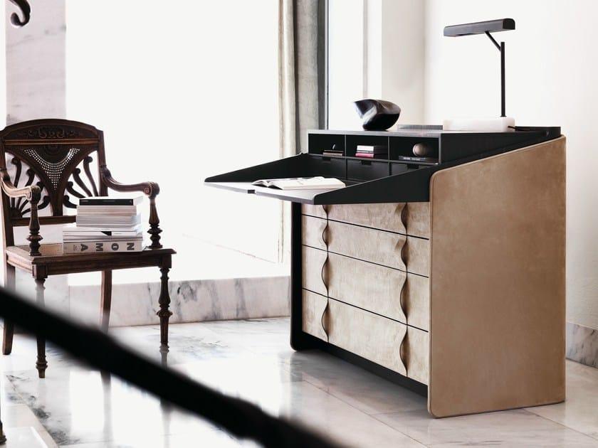 Secretary desk / chest of drawers GENTLEMAN | Secretary desk by Flou