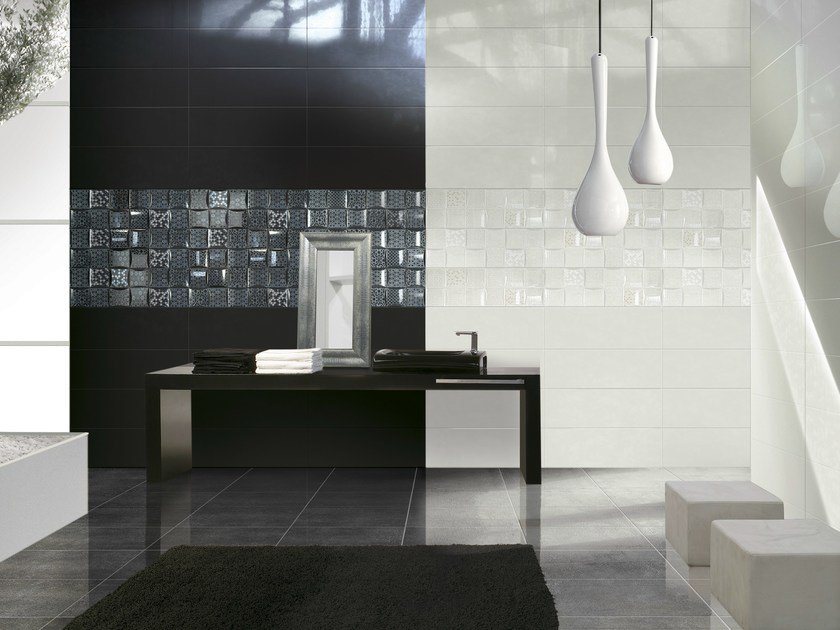 Double-fired ceramic wall tiles LUCE FRAME by CERAMICHE BRENNERO
