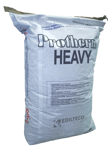 Fire-resistant plaster PROTHERM HEAVY by EDILTECO