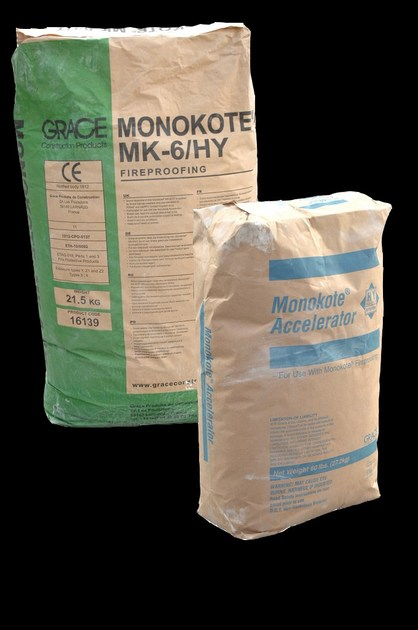 Fire-retardant plaster MONOKOTE MK-6 HY by EDILTECO