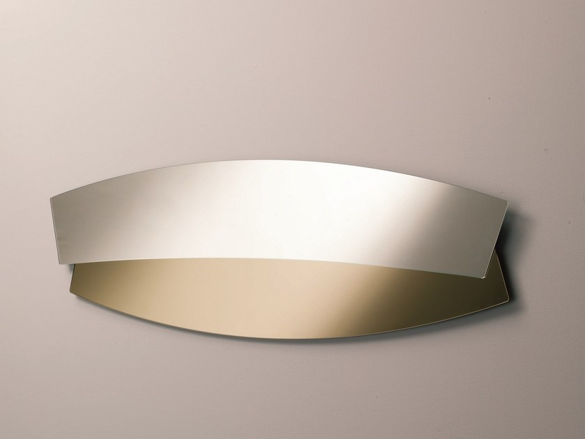 Contemporary style wall-mounted mirror DOUBLE by Bontempi