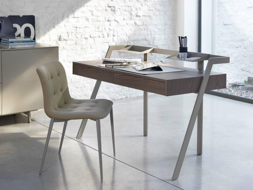 Wooden secretary desk ZAC by Bontempi