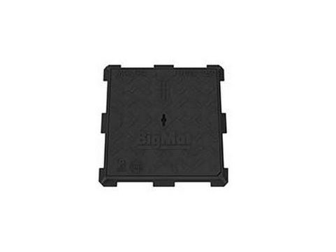 Manhole cover and grille for plumbing and drainage system LEONARDO SUPERCAST C250 by BigMat