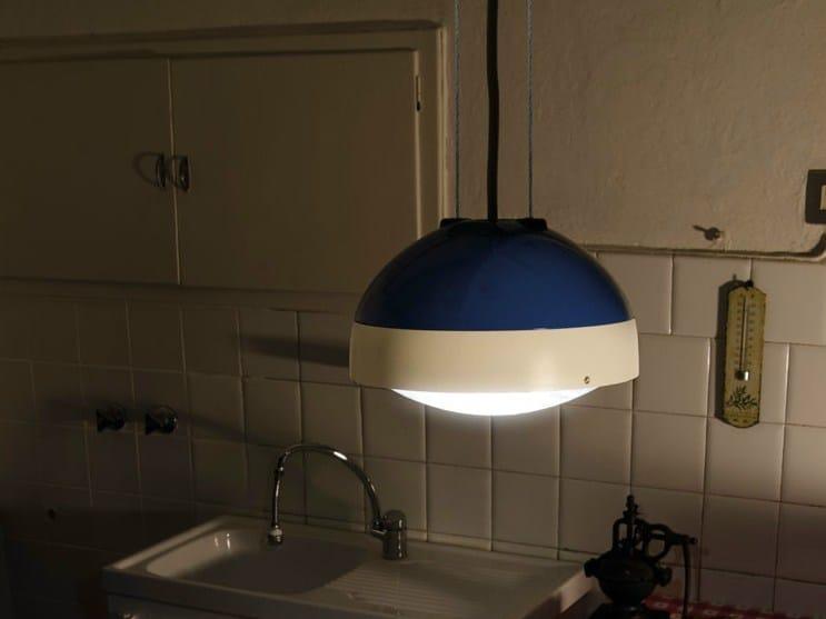 LED polycarbonate pendant lamp QUID | Pendant lamp by Lombardo