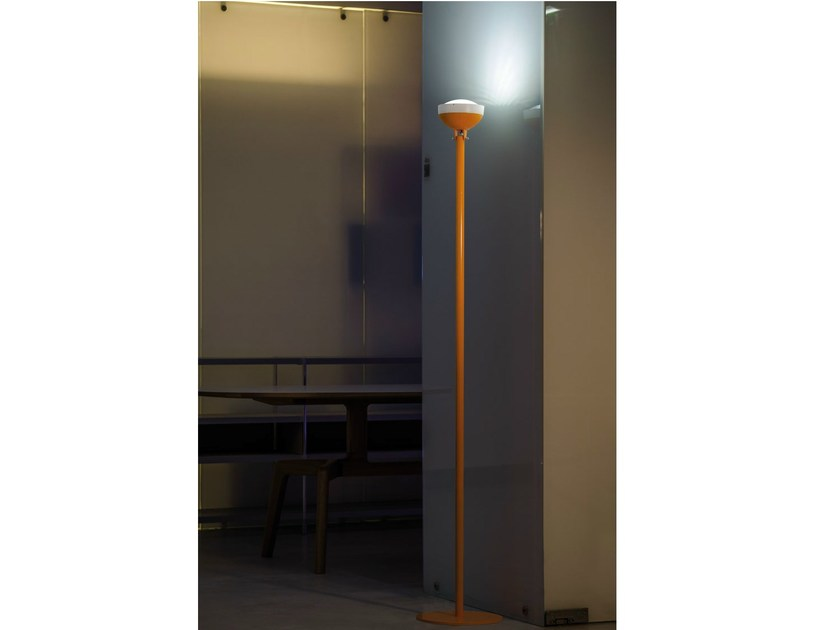 LED polycarbonate Floor lamp QUID | Floor lamp by Lombardo