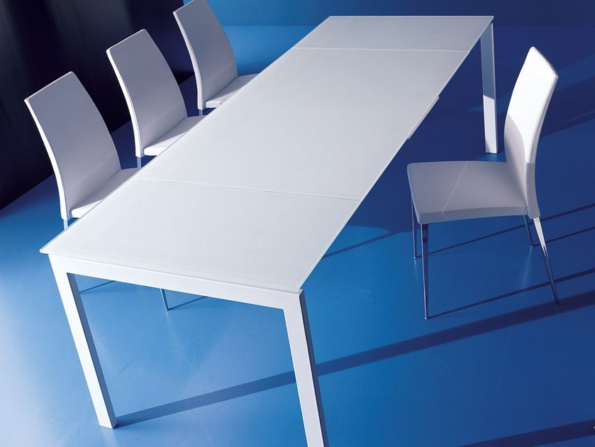 Extending dining table KEYO DUAL by Bontempi