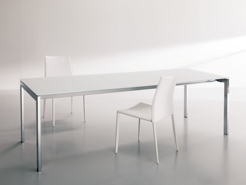 Extending dining table KEYO by Bontempi