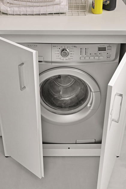 Braccio di ferro outdoor laundry room cabinet by birex - Asciugatrice in balcone ...
