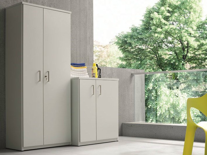 Outdoor Laundry Room Cabinet For Washing Machine BRACCIO DI FERRO