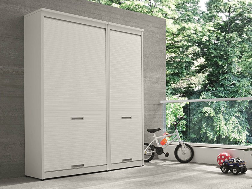 Tall Outdoor Laundry Room Cabinet BRACCIO DI FERRO
