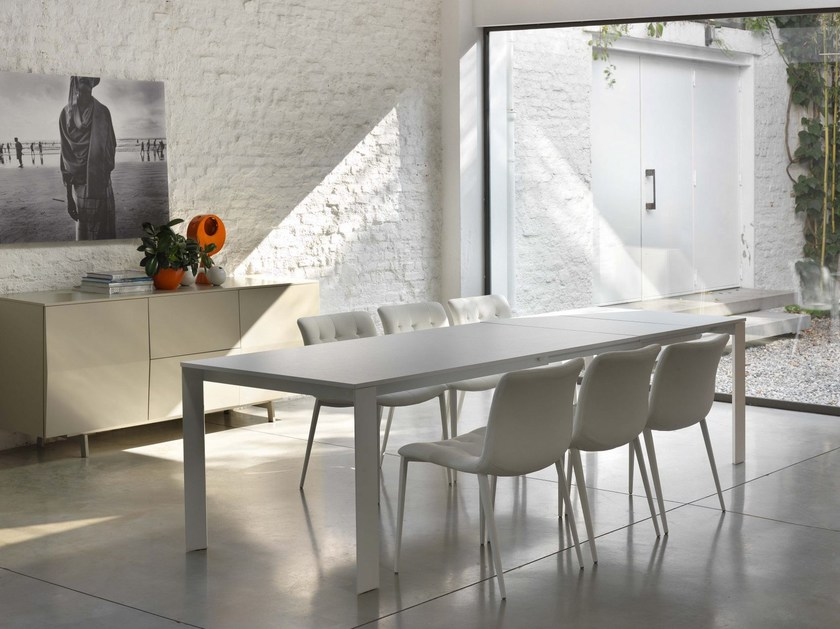 Rectangular dining table PASCAL By Bontempi