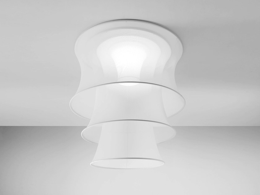 Fluorescent fabric ceiling lamp EULER | Ceiling lamp by AXOLIGHT