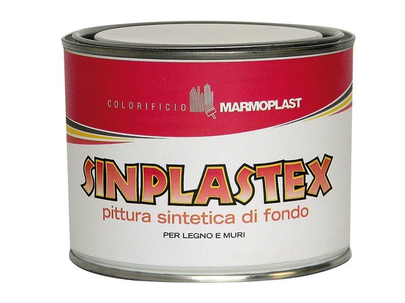 Base coat and impregnating compound for paint and varnish SINPLASTEX by Marmoplast