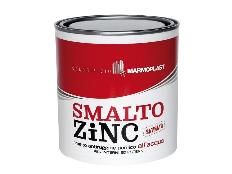 Satin rust-proof topcoat SMALTO ZINC SATINATO by Marmoplast