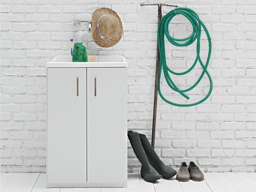Waschküchenmöbel mit integriertem Waschbecken Waschtisch By ...